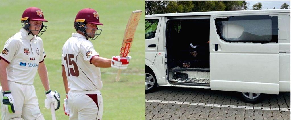 Ahead of Shield match vs Tasmania, Queensland's cricketing gear stolen