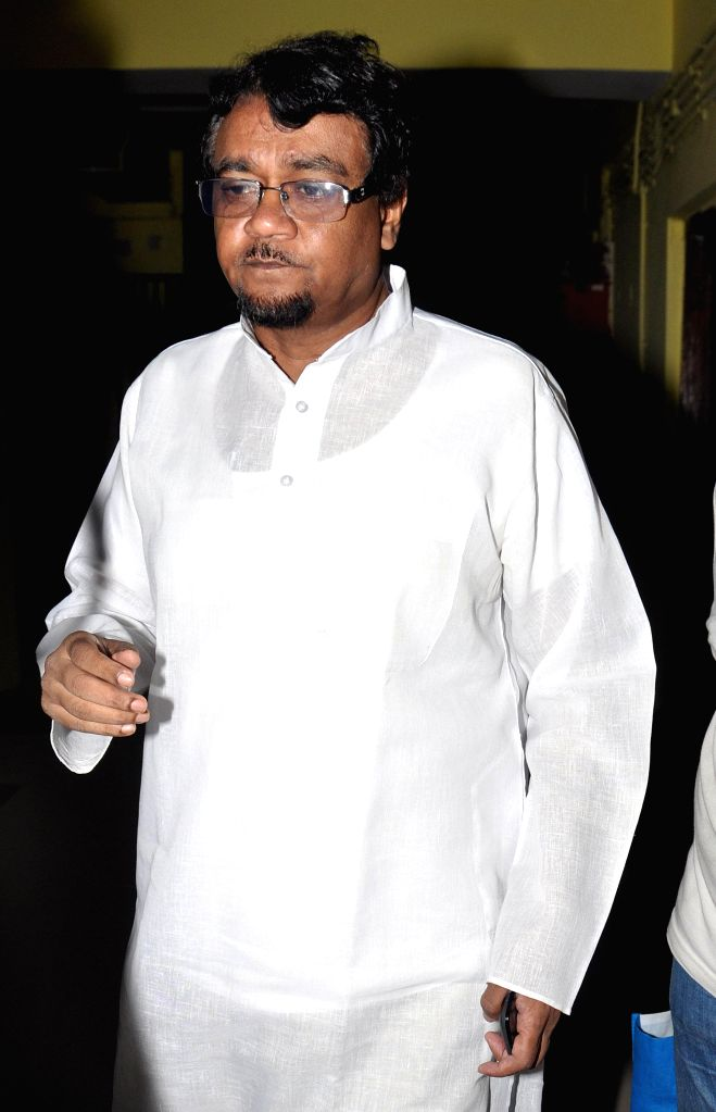 Ahmed Hassan Imran, a Journalist and a Rajya Sabha Member from West Bengal arrives to appear before the Enforcement Directorate (ED) in connection with multi-crore-rupee Saradha chit fund scam in ...