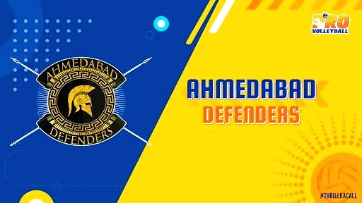 Ahmedabad Defenders. (Photo: Twitter/@ProVolleyballIN)