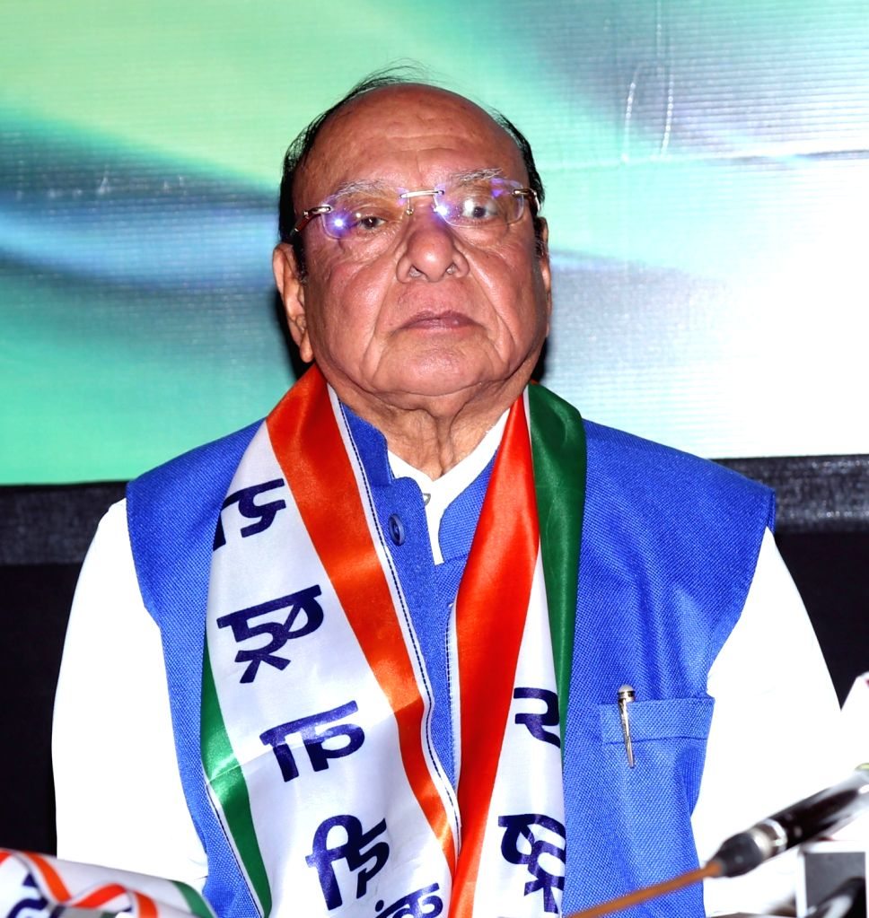 Ahmedabad: Former Gujarat Chief Minister Shankersinh Vaghela who joined Nationalist Congress Party (NCP), at a press conference in Ahmedabad, on Jan 29, 2019. (Photo: IANS) - Shankersinh Vaghela