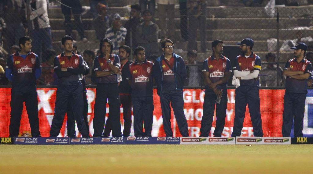 Stills of Bhojpuri Dabanggs vs Bengal Tigers match at Ahmedabad on 25th Jan 2015
