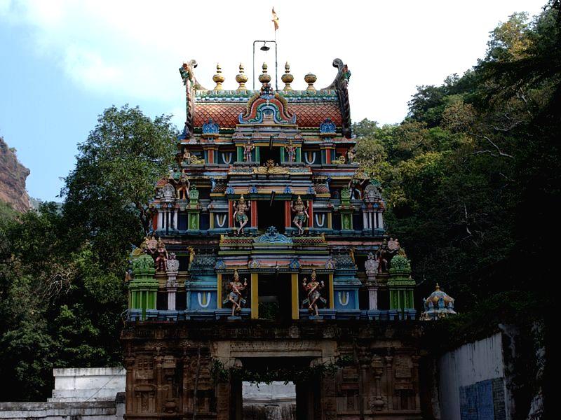 Ahobilam temple.