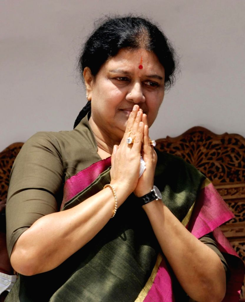 AIADMK General Secretary Sasikala Natarajan.(File Photo: IANS)