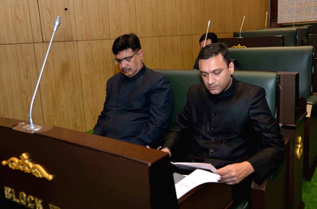 AIMIM MLA Akbaruddin Owaisi during the Budget Session of the state assembly in Hyderabad on Sep 9, 2019.