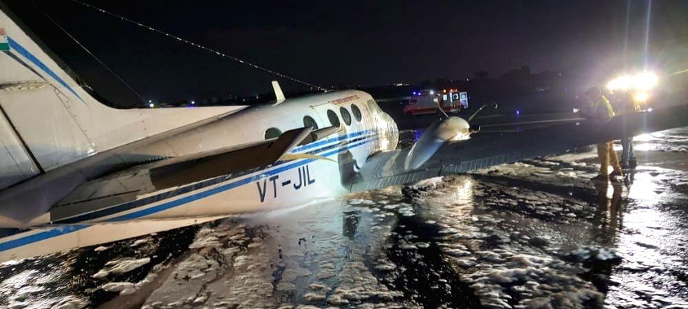 Air ambulance makes emergency landing at Mumbai airport