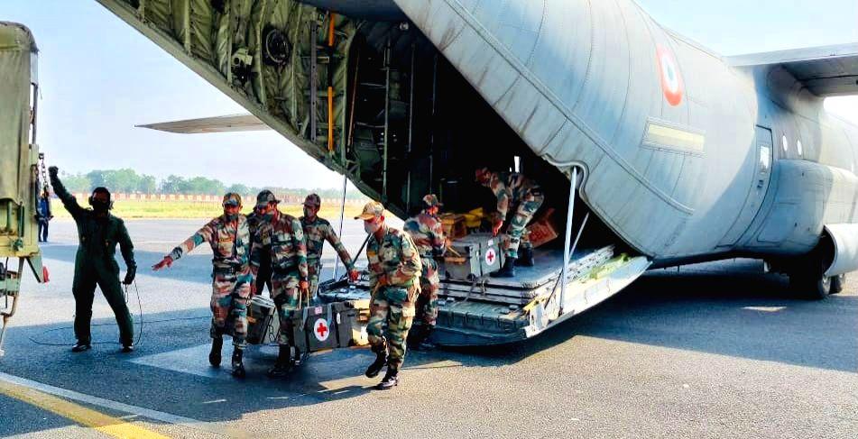 Air ambulance makes emergency landing at Mumbai Airport. No casualties..