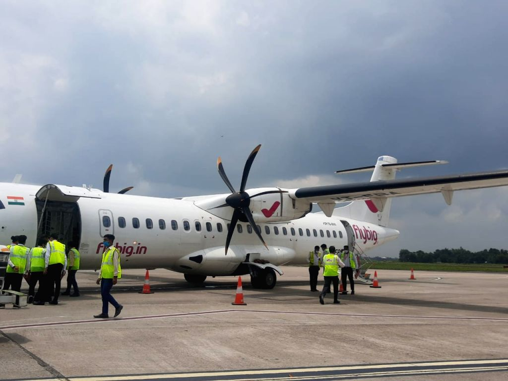Air connectivity in hilly NE India expands further