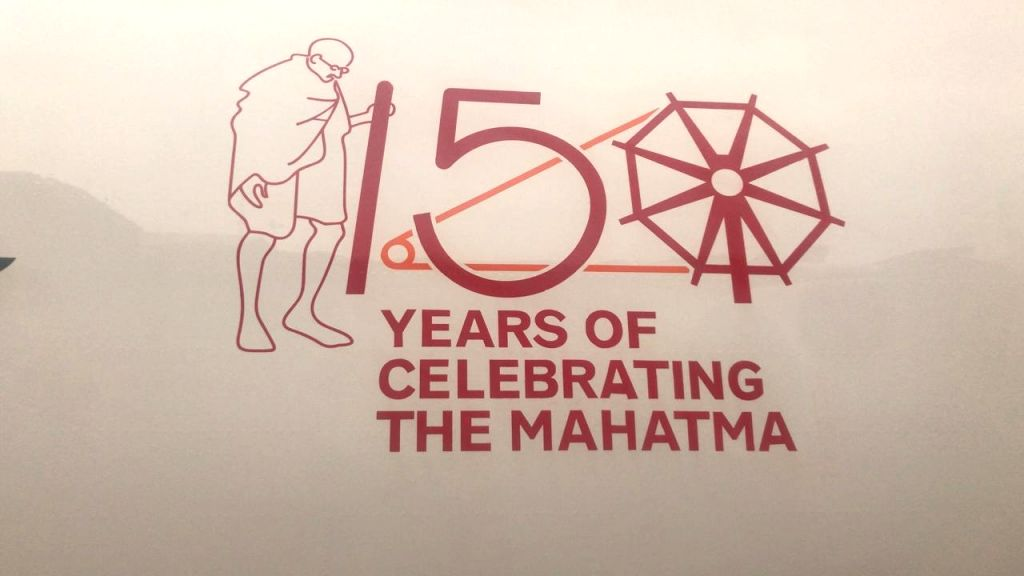 Air India has started flying with the logo of Mahatma Gandhi to commemorate his 150th birth anniversary next year. Right now only two aircraft have been painted with the logo of the Father ...