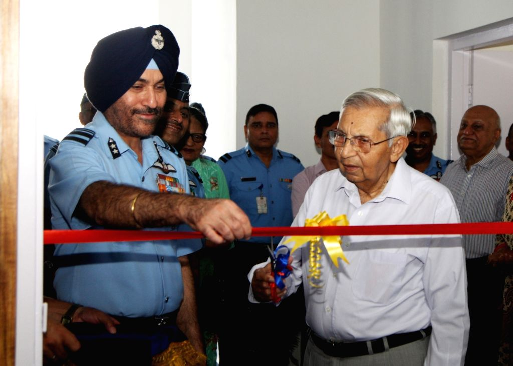 Air Vice Marshal GS Bedi, Assistant Chief of Air Staff (Personnel Officers) inaugurates the Air Force Record Office (AFRO) History Cell and Museum along with Air Marshal Denzil Keelor ...