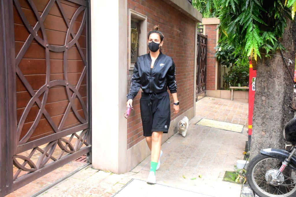 Aisha Sharma Spotted In Bandra  On Wednesday, 2nd June, 2021.