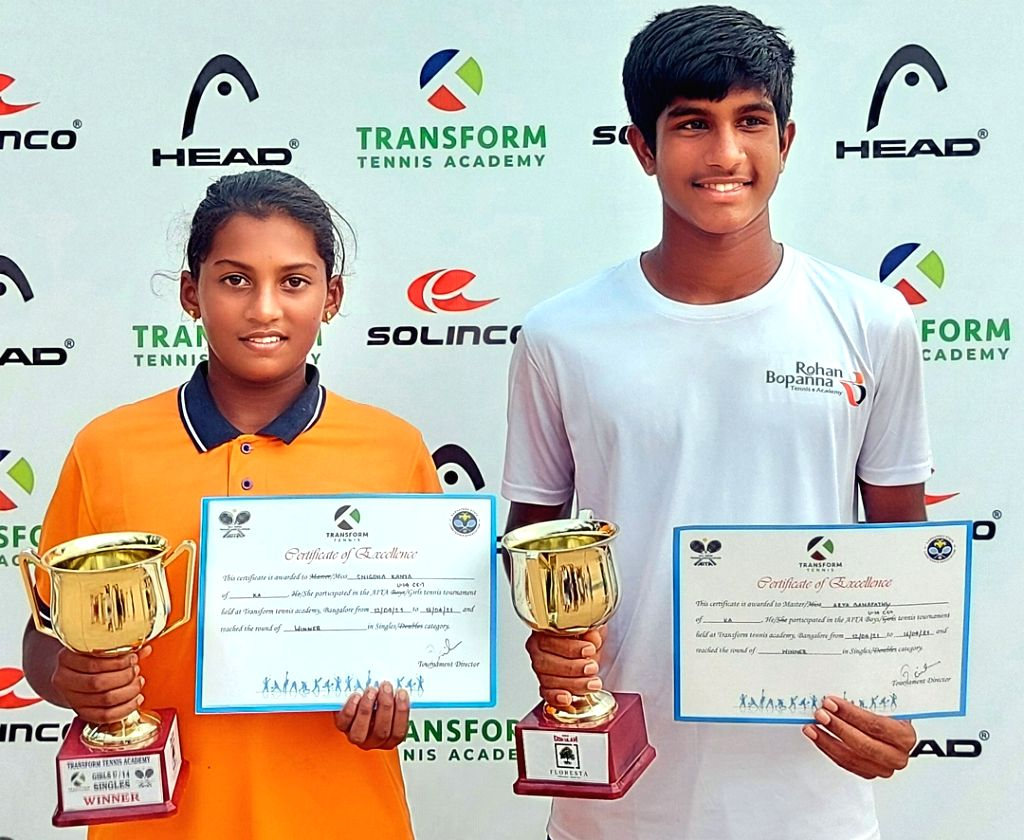 AITA U-14: Ganapathy, Snigdha champs.