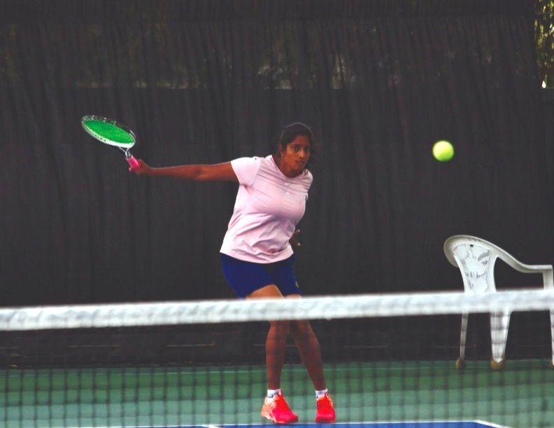AITA women's tennis: Apoorva in pre-quarters with upset win; Samhita wins
