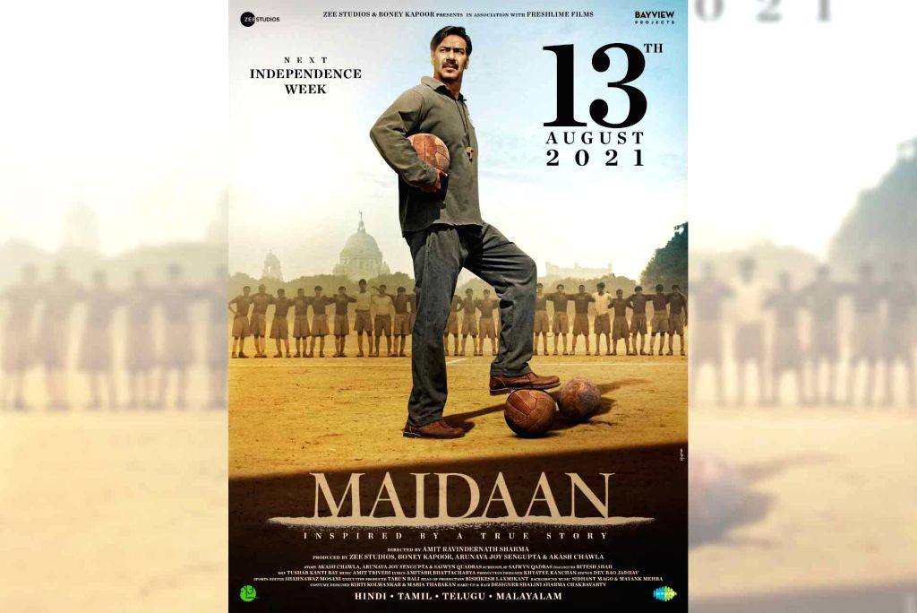 Ajay Devgn's 'Maidaan' to release in theatres on August 13 next year.