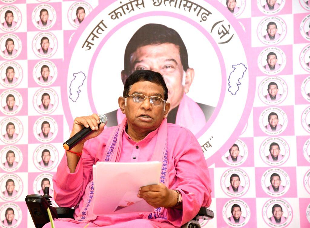 Ajit Jogi. (Photo: IANS)