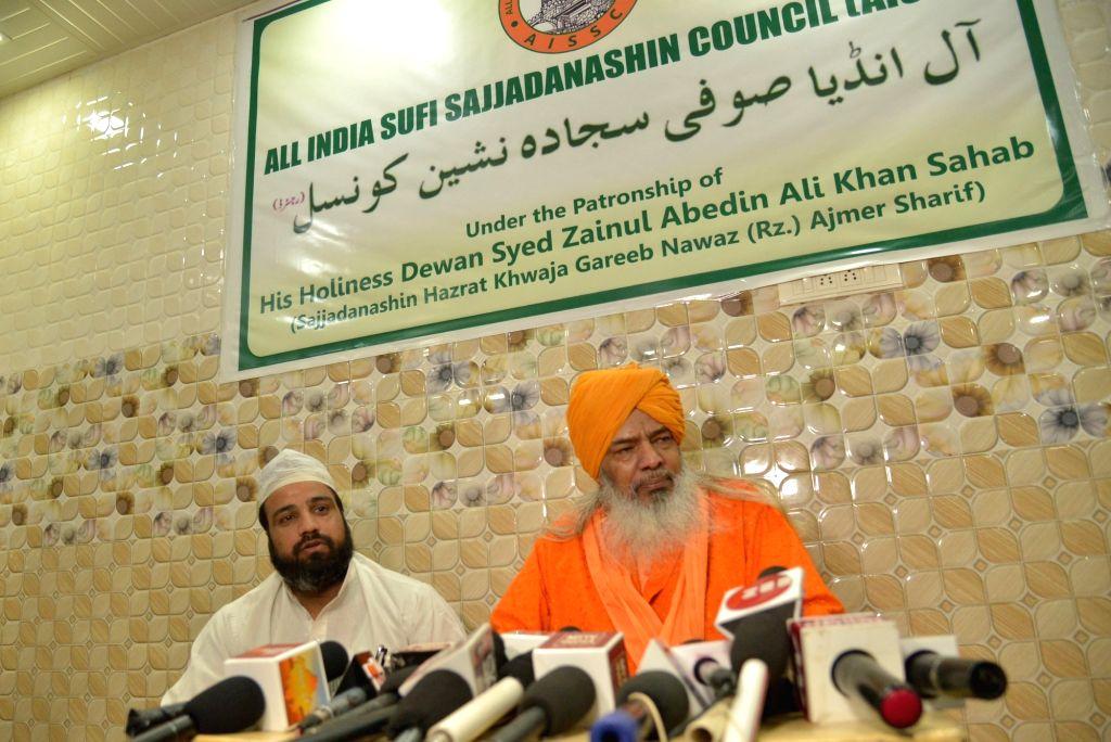 Ajmer Sharif Dargah Dewan (spiritual head) Syed Zainul Abedin. (Photo: Shaukat Ahmed/IANS)