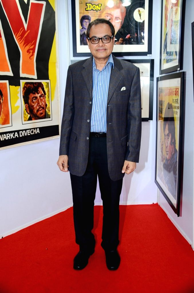 Ajoykant Ruia during the opening preview of The Osian Group`s The Greatest Indian Show on Earth 2, in Mumbai on June 16, 2017.
