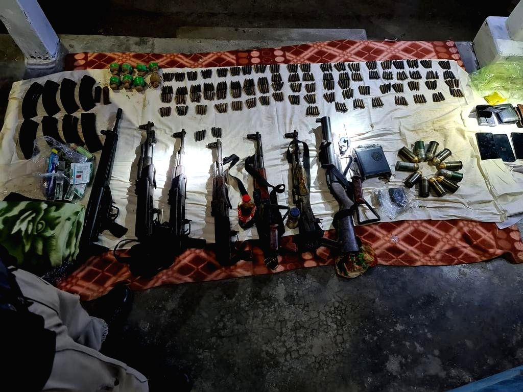 AK rifles, Chinese grenades among huge cache of arms seized in Assam, six held .