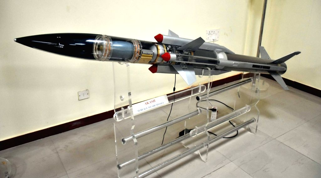Akash surface-to-air missile system. (File Photo: IANS)