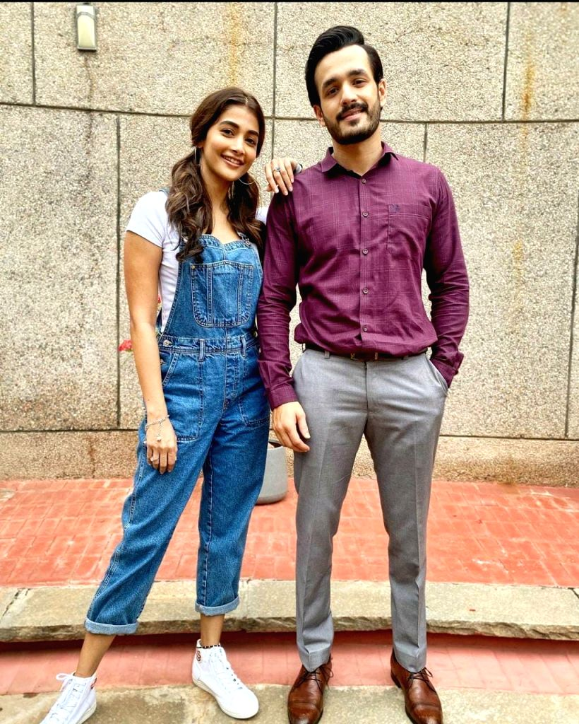 Akhil Akkineni says co-star Pooja Hegde is a workaholic