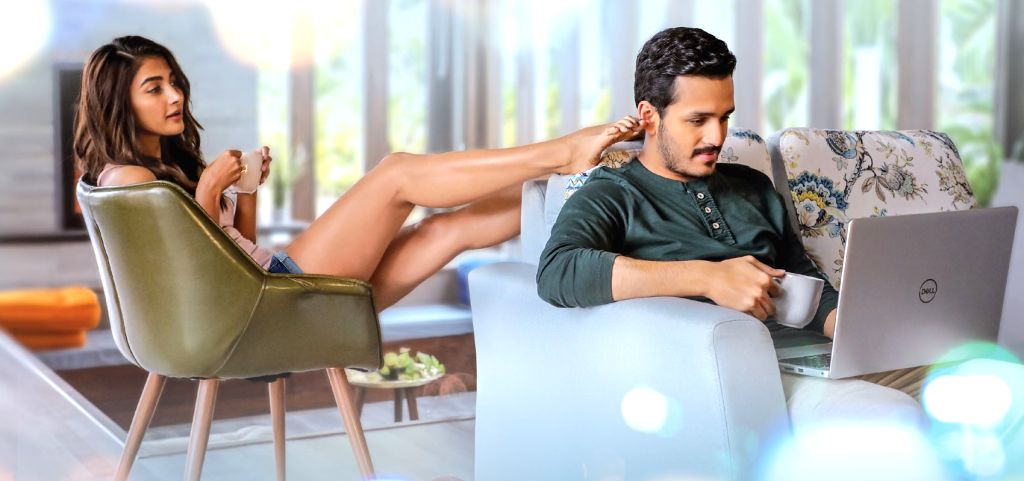 Akhil, Pooja Hegde in Most Eligible bachelor Movie.