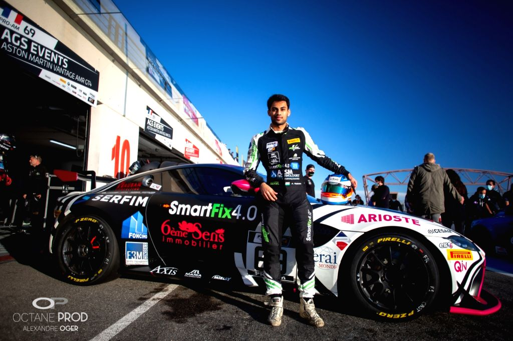Akhil Rabindra notches top-10 finish in race 1 at Circuit Paul Ricard