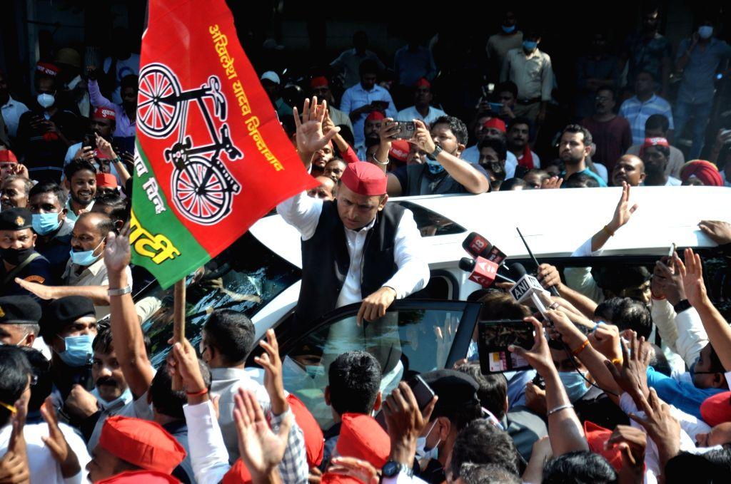 Akhilesh to launch his 'Vijay Yatra' from Oct 12
