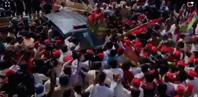 Akhilesh yadav taken into custody.