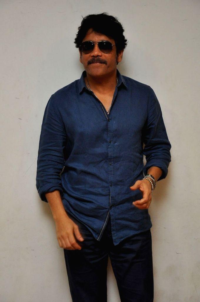 Akkineni Nagarjuna arranged Press conference on Veduka Choodam Rarandoi Movie on May 23, 2017.
