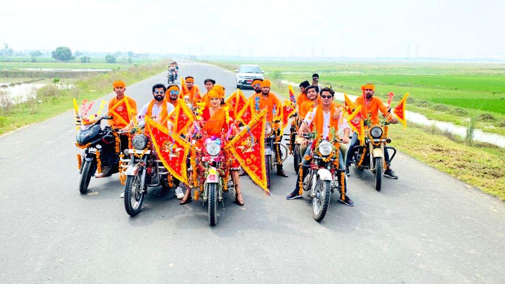 Akshara Singh's song 'Swagat Hai Shri Ram Ka' to be released soon in support of Ram temple. - Akshara Singh