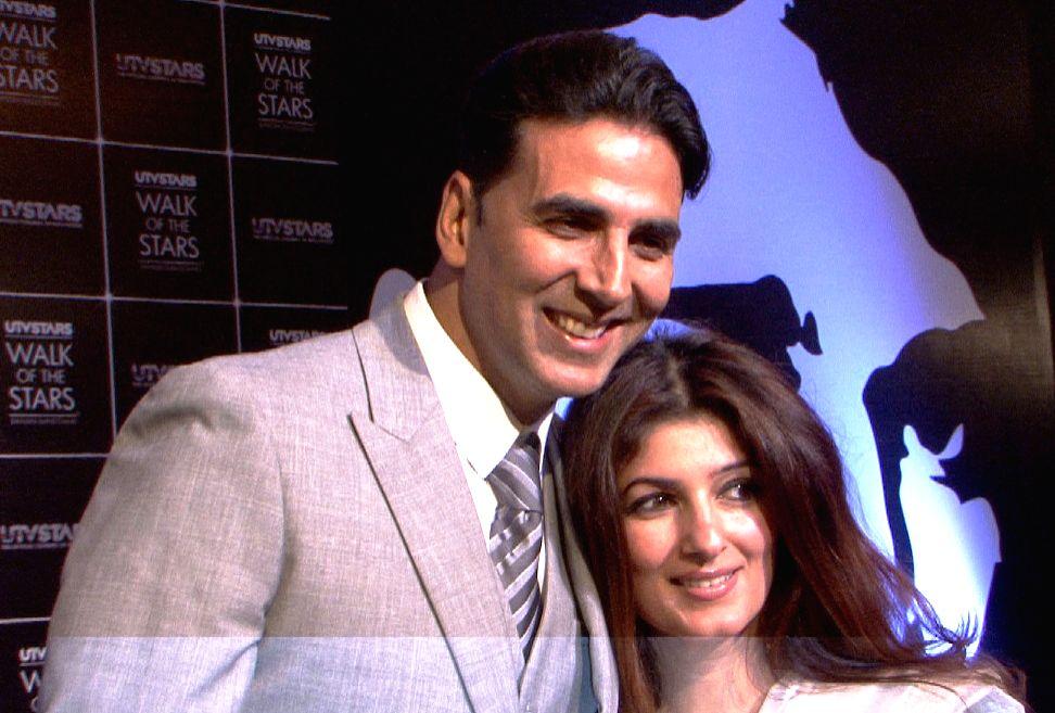 Akshay Kumar and Twinkle Khanna. (Photo: IANS) - Akshay Kumar and Khanna