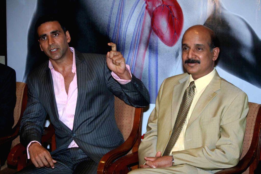 Akshay Kumar at Asian Heart helpline event at Taj Land's end.