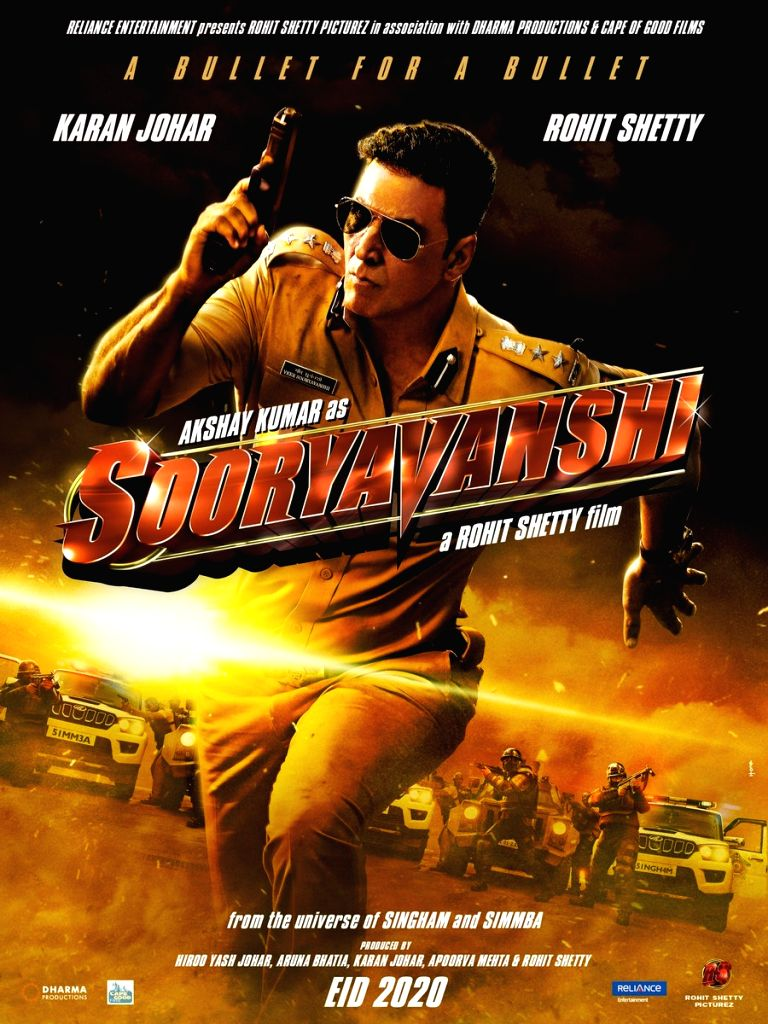 Akshay Kumar joins Rohit Shetty's police universe with 'Sooryavanshi'. (Photo: Twitter/@akshaykumar) - Akshay Kumar and Rohit Shetty