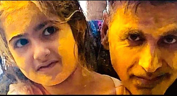 Akshay Kumar posts Holi selfie with daughter ( Credit : Akshay Kumar/instagram) - Akshay Kumar