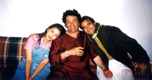 Akshaye Khanna shared a throwback image of himself with Rishi Kapoor and Aishwarya Rai Bachchan - Aishwarya Rai Bachchan, Akshaye Khanna and Rishi Kapoor