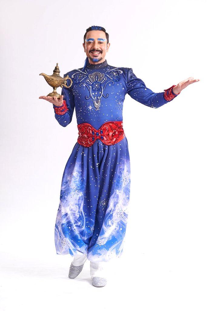 Aladdin in the Cave of Wonders (Siddharth Menon). - Siddharth Menon