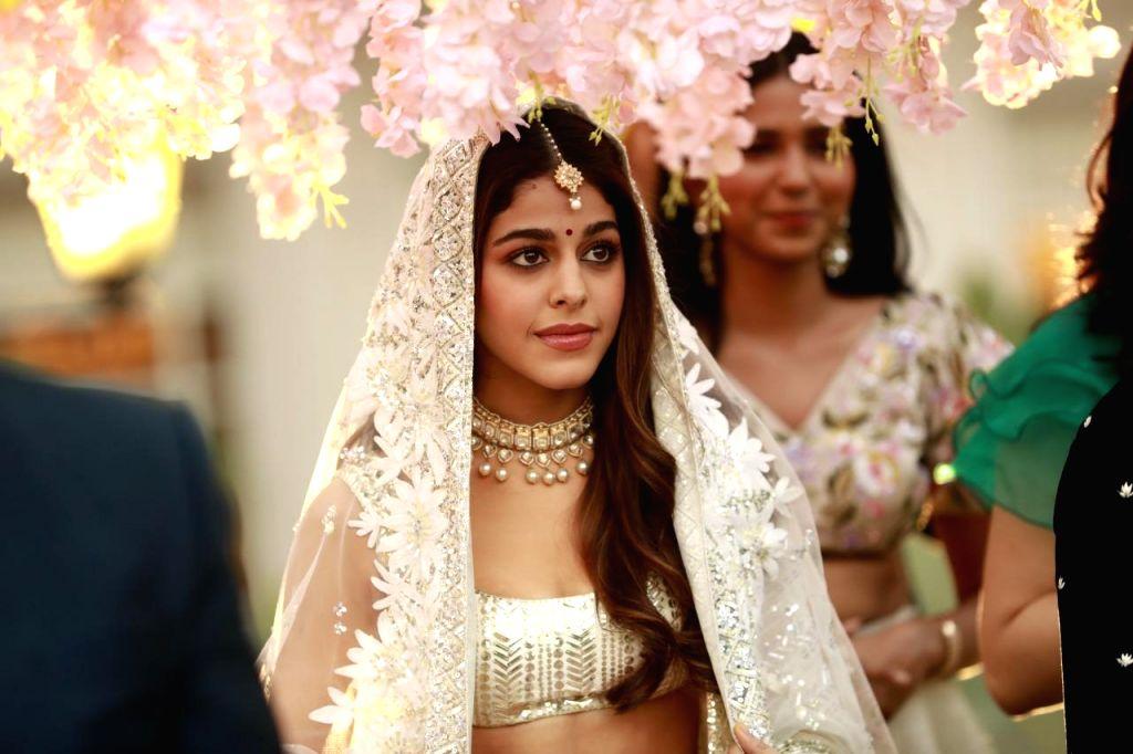 Alaya F says her music video aaj Sajeya could be the wedding song of the season