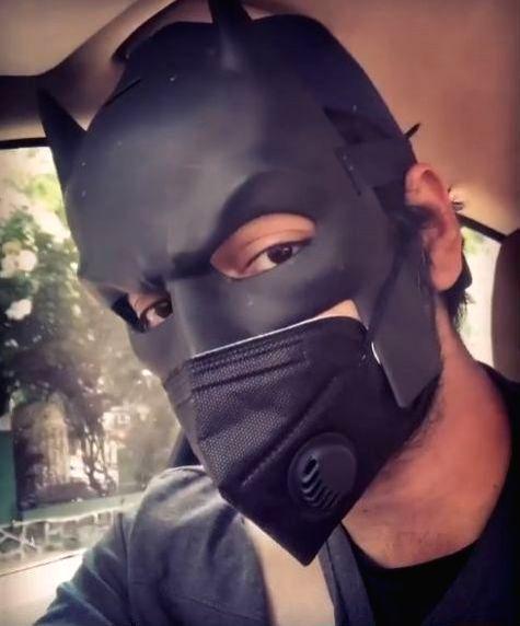 Ali Fazal channels inner Batman to help people in need.