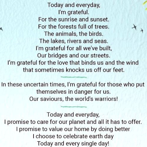 Alia Bhatt pens poem to celebrate Earth Day.
