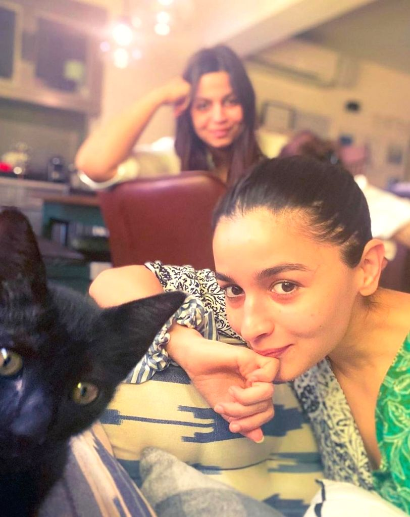 Alia Bhatt's cat Juniper can take selfies!.