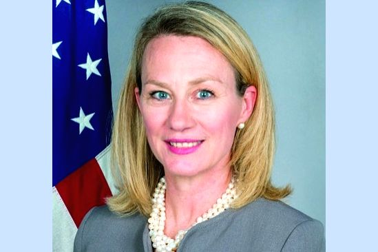 Alice G Wells, the United States Acting Assistant Secretary for South and Central Asia.
