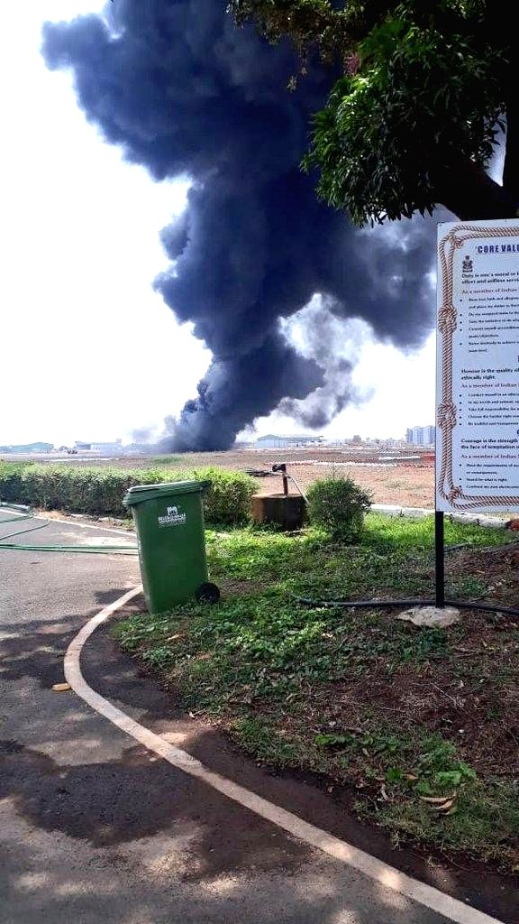 All flight operations at Goa's Dabolim International Airport have been suspended for two hours after a detachable fuel tank attached to a MiG-29K aircraft fell on the runway, spilling fuel ...