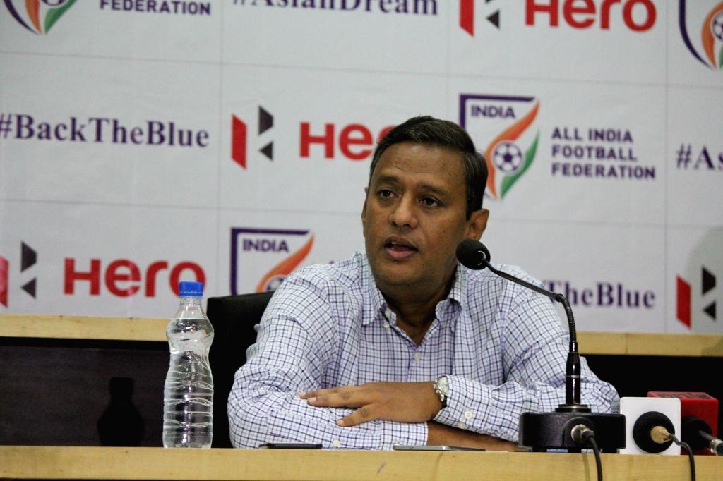 All India Football Federation (AIFF) General Secretary Kushal Das. (Photo: IANS)