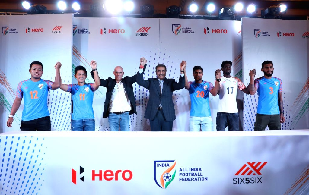 new style 97dad 02f55 Launch of the Indian National Football Team's new jersey