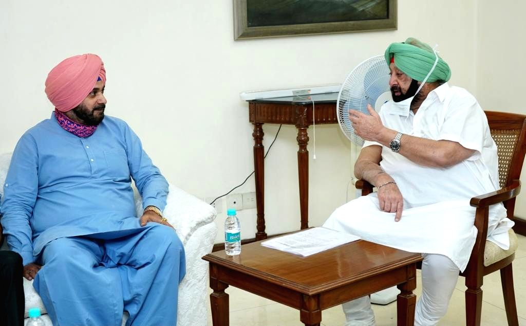 All key issues in advance stage of resolution, Punjab CM told Sidhu