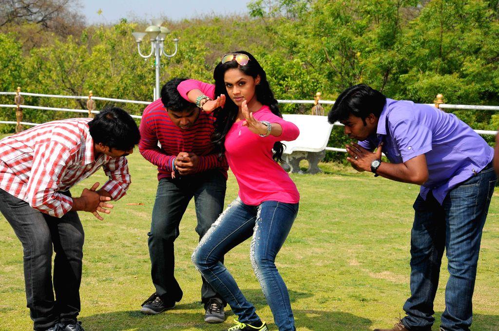 Allari Naresh and Karthika Nair acted telugu movies  ``Brother of Bommali `` stills
