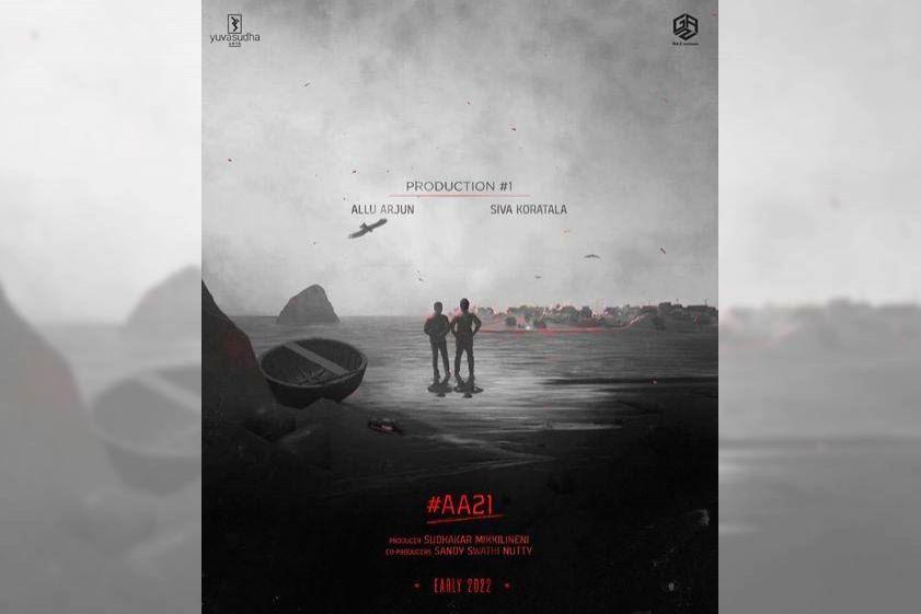 Allu Arjun announces ???AA21??? with Koratala Siva.