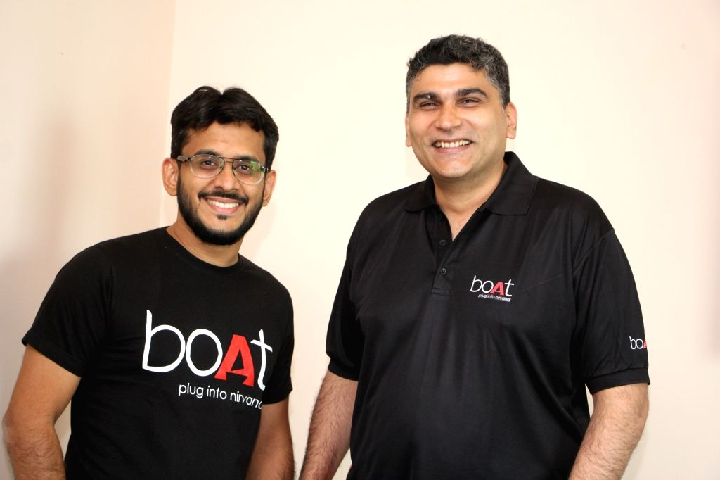 Free Photo: Aman Gupta and Sameer Mehta, Co-founders of boAt..