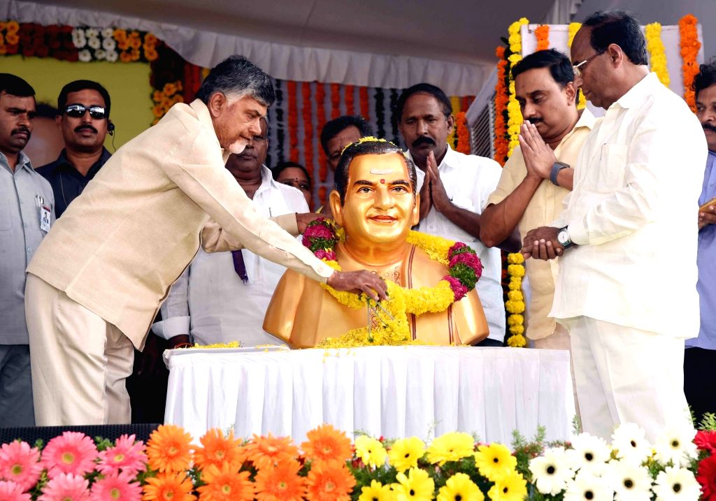 Amaravati, May 28 (IANS) The Telugu Desam Party (TDP) on Thursday demanded that Bharat Ratna, the highest civilian award of the country, be conferred posthumously on its founder and former Andhra Pradesh Chief Minister N.T. Rama Rao. - N. and T. Rama Rao