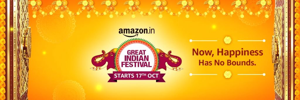 Amazon announces its Great Indian Festival from Oct 17 (Photo: @amazonIN/ Twitter)