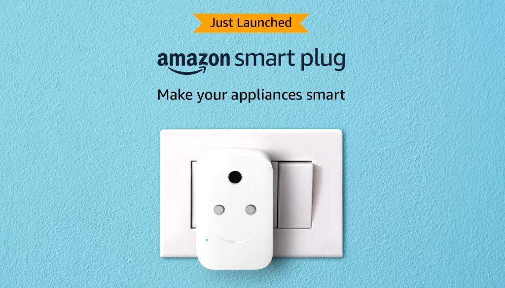 Amazon has launched its smart plug in India for just Rs 1,999.